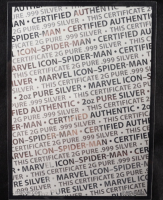 2019 Fiji Marvel: Spider-Man Shaped 2oz .999 Fine Silver Coin at PristineAuction.com