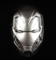 2019 Fiji Marvel: Iron Man Shaped 2oz .999 Fine Silver Coin at PristineAuction.com
