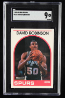 David Robinson 1989-90 Hoops #310 In-Action (SGC 9) at PristineAuction.com