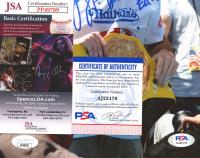 "Joey Chestnut Signed 8x10 Photo Inscribed ""EAT!"" (JSA COA & PSA COA) at PristineAuction.com"