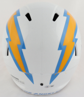 Keenan Allen Signed Chargers Full-Size Speed Helmet (Beckett Hologram) at PristineAuction.com