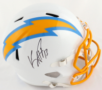 Keenan Allen Signed Chargers Full-Size Speed Helmet (Beckett COA) at PristineAuction.com
