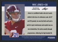 Mac Jones 2021 Pro Set #PSDD9 RC at PristineAuction.com