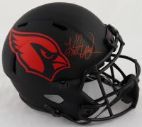 Kurt Warner Signed Cardinals Full-Size Eclipse Alternate Speed Helmet (Beckett Hologram) at PristineAuction.com