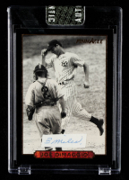 Joe DiMaggio 1993 Pinnacle DiMaggio #4 First Game With Hand-Written Word (Sportscard.com Encapsulated) at PristineAuction.com