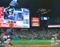 Nolan Arenado Signed Rockies 11x14 Photo (Fanatics Hologram & MLB Hologram) at PristineAuction.com