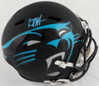 D. J. Moore Signed Panthers Full-Size AMP Alternate Speed Helmet (Beckett Hologram) at PristineAuction.com