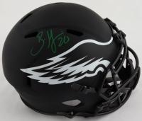 Brian Dawkins Signed Eagles Full-Size Eclipse Alternate Speed Helmet (Beckett Hologram) at PristineAuction.com