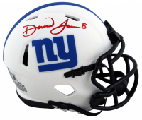 Daniel Jones Signed Giants Lunar Eclipse Alternate Speed Mini Helmet (Beckett Hologram) at PristineAuction.com