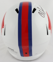 O. J. Simpson Signed Bills Full-Size Throwback Speed Helmet (JSA COA) at PristineAuction.com