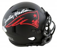 Curtis Martin Signed Patriots Eclipse Alternate Speed Mini Helmet (PSA COA) at PristineAuction.com