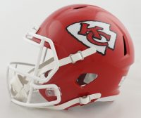 Clyde Edwards-Helaire Signed Chiefs Full-Size Speed Helmet (Beckett Hologram) (See Description) at PristineAuction.com