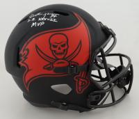 "Dexter Jackson Signed Buccaneers Full-Size Eclipse Alternate Speed Helmet Inscribed ""S.B. XXXVII MVP"" (JSA COA) (See Description) at PristineAuction.com"