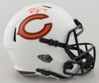 Brian Urlacher Signed Bears Full-Size Lunar Eclipse Alternate Speed Helmet (Beckett COA) (See Description) at PristineAuction.com