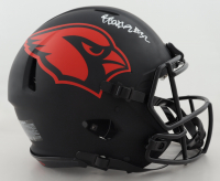 Budda Baker Signed Cardinals Full-Size Authentic On-Field Eclipse Alternate Speed Helmet (Beckett COA) (See Description) at PristineAuction.com