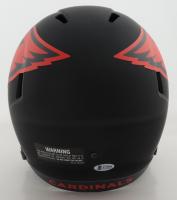 Budda Baker Signed Cardinals Full-Size Eclipse Alternate Speed Helmet (Beckett COA) (See Description) at PristineAuction.com