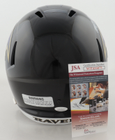"""Marquise Brown Signed Ravens Full-Size Speed Helmet Inscribed """"Speed Kills"""" (JSA COA) at PristineAuction.com"""