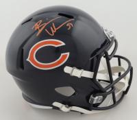Brian Urlacher Signed Bears Full-Size Speed Helmet (Beckett COA) (See Description) at PristineAuction.com