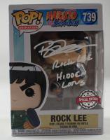 "Brian Donovan Signed ""Naruto: Shippuden"" #739 Rock Lee Funko Pop! Vinyl Figure Inscribed ""Rock Lee"" & ""Hidden Lotus"" (PSA COA) (See Description) at PristineAuction.com"
