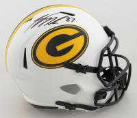 Jordy Nelson Signed Packers Full-Size Lunar Eclipse Alternate Speed Helmet (Beckett Hologram) (See Description) at PristineAuction.com