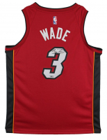 Dwayne Wade Signed Heat Jersey (Fanatics Hologram) at PristineAuction.com