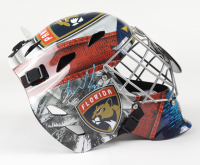 Spencer Knight Signed Panthers Full-Size Goalie Mask (Fanatics Hologram) at PristineAuction.com