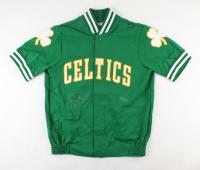 Larry Bird Signed LE Celtics Warm-Up Jacket (UDA COA) at PristineAuction.com