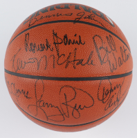 Celtics NBA Game Ball Series Basketball Team-Signed by (7) with Larry Bird, Kevin McHale, Bill Walton, K.C. Jones (UDA COA) (See Description) at PristineAuction.com