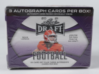 2021 Leaf Draft Football Hobby Blaster Box with (50) Cards (See Descreiption) at PristineAuction.com