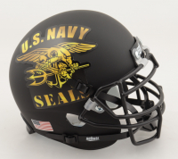 "Robert O'Neill Signed U.S. Navy SEAL Matte Black Mini Helmet Inscribed ""Never Quit!"" (PSA COA) at PristineAuction.com"