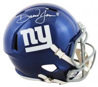 Daniel Jones Signed Giants Full-Size Speed Helmet (Beckett Hologram) at PristineAuction.com