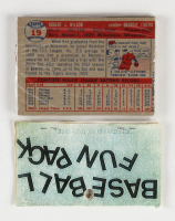 1957 Topps Baseball Card Fun Pack with (10) Cards (See Description) at PristineAuction.com