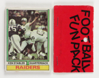 1974 Topps Football Card Fun Pack with (10) Cards (See Description) at PristineAuction.com