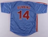 """Jim Bunning Signed Jersey Inscribed """"HOF 96"""" (JSA Hologram) at PristineAuction.com"""