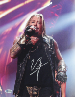 Vince Neil Signed 11x14 Poster (Beckett COA) at PristineAuction.com