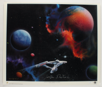 """William Shatner Signed """"Star Trek: The Final Frontier"""" 27x32 High Quality Glossy Art Lithograph (JSA COA) at PristineAuction.com"""
