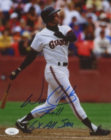 """Will Clark Signed Giants 8x10 Photo Inscribed """"6x All Star"""" (JSA COA) at PristineAuction.com"""
