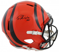 Tee Higgins Signed Bengals Full-Size Speed Helmet (Beckett COA) at PristineAuction.com