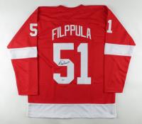 Valtteri Filppula Signed Jersey (Beckett COA) (See Description) at PristineAuction.com