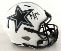 Michael Gallup Signed Cowboys Full-Size Lunar Eclipse Alternate Speed Helmet (Beckett Hologram) at PristineAuction.com