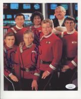 "Nichelle Nichols & Walter Koenig Signed ""Star Trek"" 8x10 Photo (JSA COA) at PristineAuction.com"