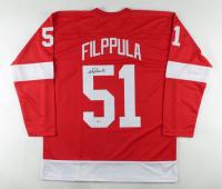 Valtteri Filppula Signed Jersey (Beckett COA) at PristineAuction.com