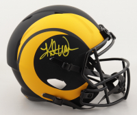 Kurt Warner Signed Rams Full-Size Eclipse Alternate Speed Helmet (Beckett Hologram) at PristineAuction.com