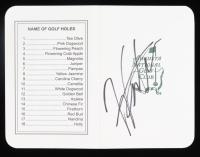 Hideki Matsuyama Signed Augusta National Golf Club Score Card (JSA COA) at PristineAuction.com