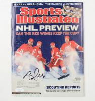 Brett Hull Signed 2002 Sports Illustrated Magazine (JSA COA) (See Description) at PristineAuction.com