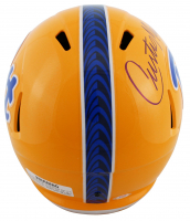 Curtis Martin Signed Pittsburgh Panthers Full-Size Speed Helmet (PSA COA) at PristineAuction.com