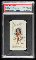 Snoop Dogg Signed 2014 Topps Allen and Ginter #23 Snoop Lion (PSA Encapsulated) at PristineAuction.com