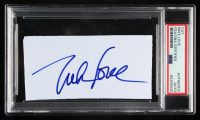 Mike Love Signed 2.5x5 Index Card (PSA Encapsulated) at PristineAuction.com