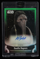 Arti Shah as Gwellis Bagnoro 2021 Star Wars Signature Series Autographs Green #AASG #5/25 with Box at PristineAuction.com