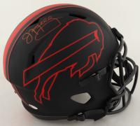 Jim Kelly Signed Bills Full-Size Eclipse Alternate Speed Helmet (Beckett COA) at PristineAuction.com
